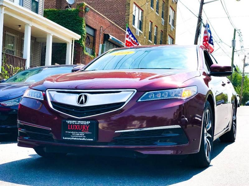 Acura TLX WTech In Irvington NJ Luxury Vehicles Nj - Acura for sale in nj