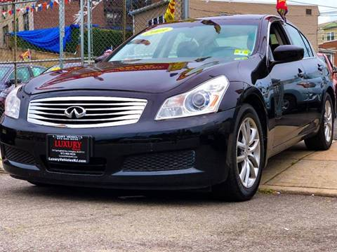 2009 infiniti g37 for sale in new jersey. Black Bedroom Furniture Sets. Home Design Ideas