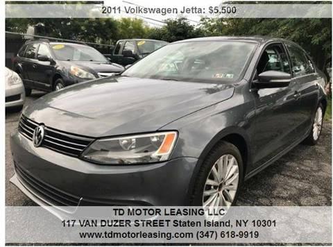 2011 Volkswagen Jetta for sale at TD MOTOR LEASING LLC in Staten Island NY
