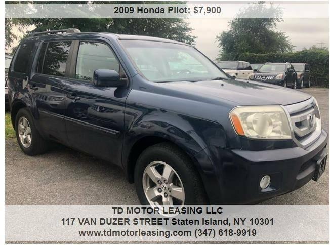 2009 Honda Pilot For Sale At TD MOTOR LEASING LLC In Staten Island NY