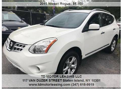 2011 Nissan Rogue for sale at TD MOTOR LEASING LLC in Staten Island NY
