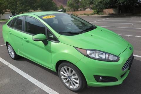 2014 Ford Fiesta for sale in Moab, UT