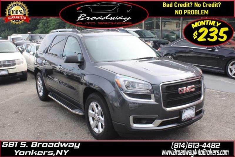 2014 Gmc Acadia SLE-1 4dr SUV In Younkers NY ... Younkers Mirrors on
