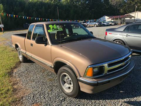 1996 Chevrolet S-10 for sale in Gastonia NC