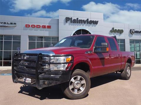 2016 Ford F-250 Super Duty for sale in Plainview TX