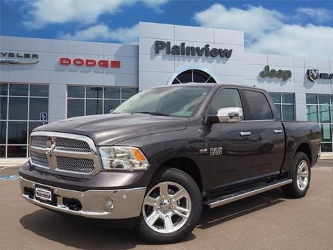 2017 RAM Ram Pickup 1500 for sale in Plainview TX