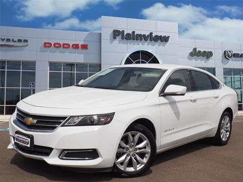 2017 Chevrolet Impala for sale in Plainview, TX