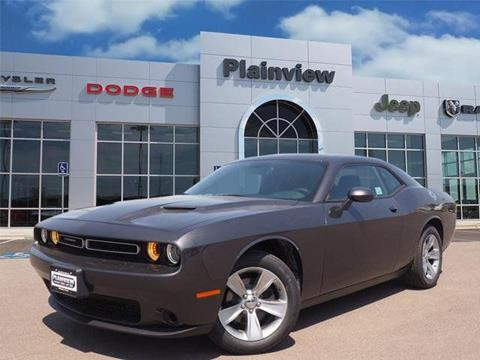 2018 Dodge Challenger for sale in Plainview, TX