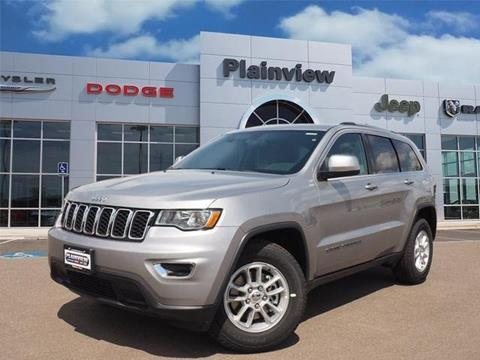2018 Jeep Grand Cherokee for sale in Plainview, TX
