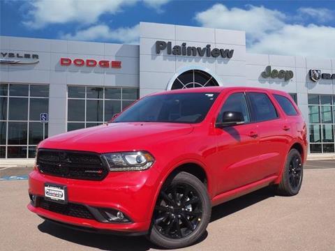 2018 Dodge Durango for sale in Plainview, TX