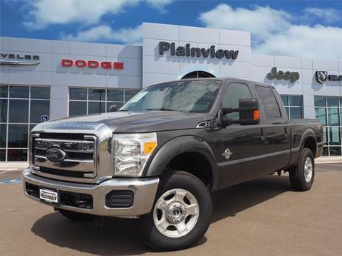 2016 Ford F-250 Super Duty for sale in Plainview, TX