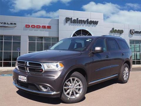 2018 Dodge Durango for sale in Plainview TX