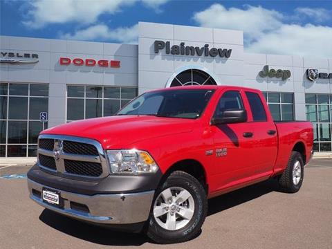 2018 RAM Ram Pickup 1500 for sale in Plainview, TX