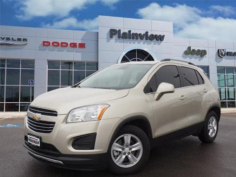 2016 Chevrolet Trax for sale in Plainview TX