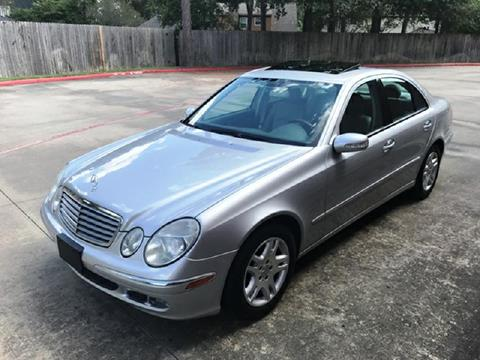 2006 Mercedes-Benz E-Class for sale in Houston TX