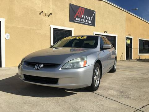 2003 Honda Accord for sale in Kissimmee, FL