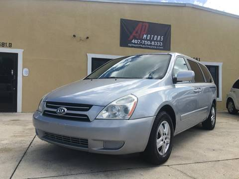 2006 Kia Sedona for sale in Kissimmee, FL