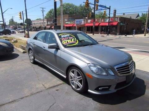 2010 Mercedes-Benz E-Class for sale in Cleveland, OH