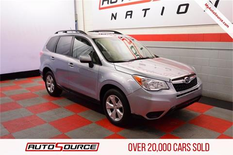 2015 Subaru Forester for sale in Woods Cross, UT