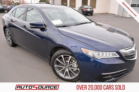2015 Acura TLX for sale in Woods Cross, UT