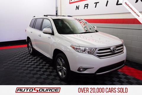 2013 Toyota Highlander for sale in Woods Cross, UT