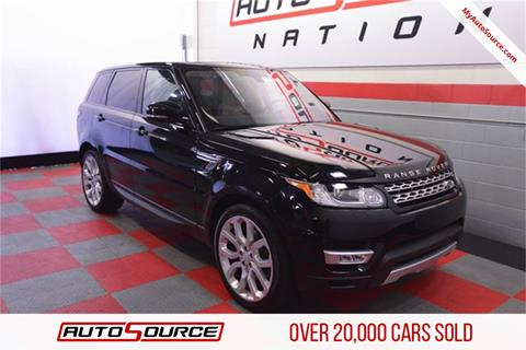 2016 Land Rover Range Rover Sport for sale in Woods Cross, UT