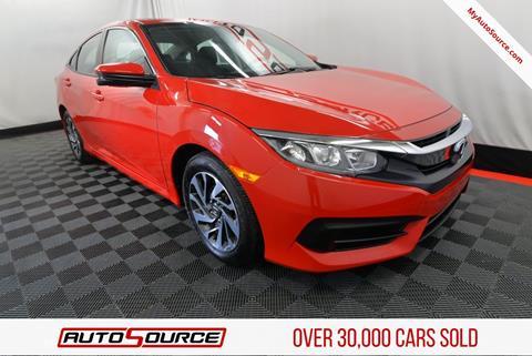 2017 Honda Civic for sale in Woods Cross, UT