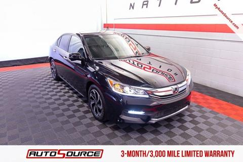 2017 Honda Accord for sale in Woods Cross, UT