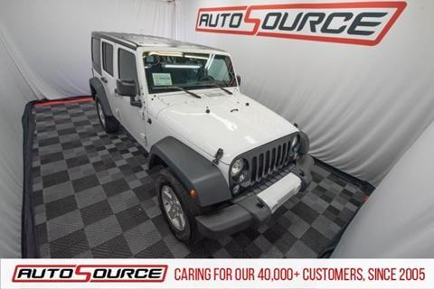 2015 Jeep Wrangler Unlimited for sale in Woods Cross, UT