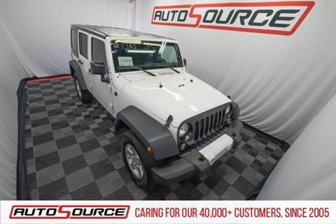 2015 Jeep Wrangler Unlimited for sale in Woods Cross, UT