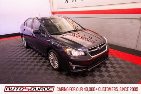 2016 Subaru Impreza for sale in Woods Cross, UT
