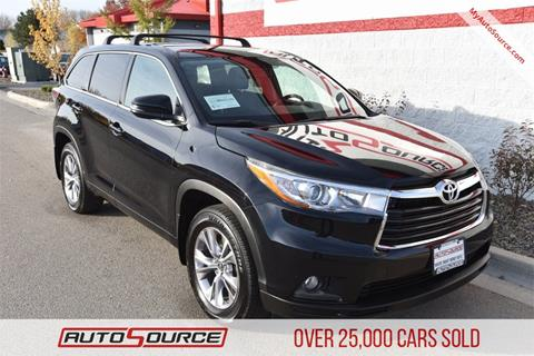 2016 Toyota Highlander for sale in Boise, ID