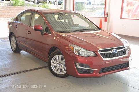 2016 Subaru Impreza for sale in Colorado Springs, CO