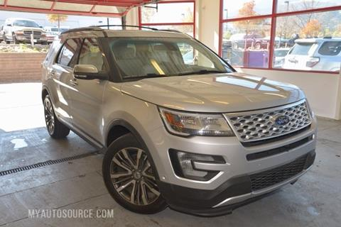2016 Ford Explorer for sale in Colorado Springs, CO