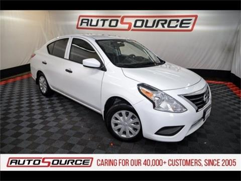 2017 Nissan Versa for sale in Colorado Springs, CO