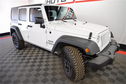 2016 Jeep Wrangler Unlimited for sale in Las Vegas, NV