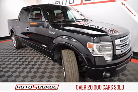 2013 Ford F-150 for sale in Las Vegas, NV