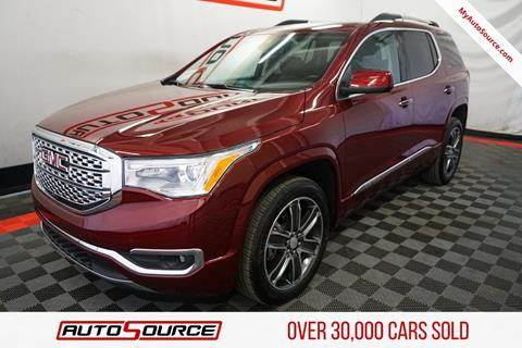 2018 GMC Acadia for sale in Las Vegas, NV