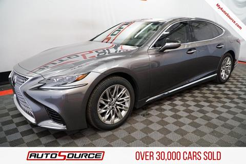 Used 2018 Lexus Ls 500 For Sale In Naples Fl Carsforsale Com