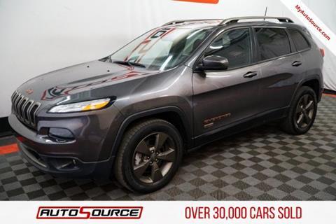 2016 Jeep Cherokee for sale in Las Vegas, NV