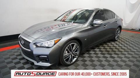 2015 Infiniti Q50 for sale in Las Vegas, NV