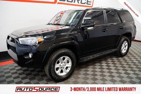 Toyota Forerunner For Sale >> Used Toyota 4runner For Sale Carsforsale Com