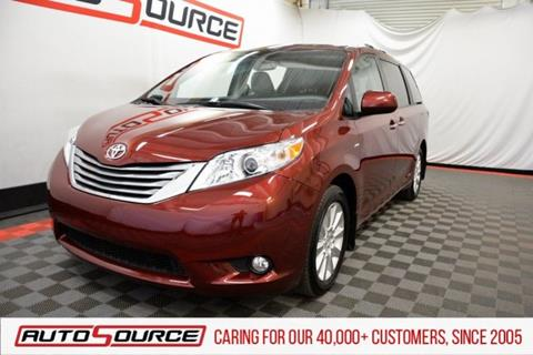 2016 Toyota Sienna for sale in Las Vegas, NV