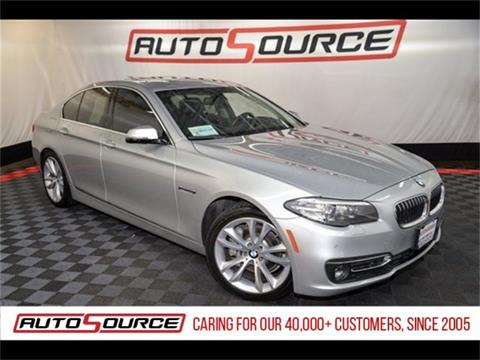 2015 BMW 5 Series for sale in Las Vegas, NV