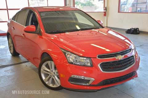 2015 Chevrolet Cruze for sale in Lindon, UT