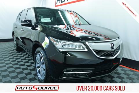2014 Acura MDX for sale in Lindon, UT
