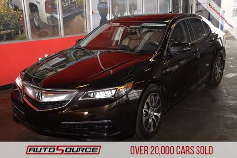 2016 Acura TLX for sale in Post Falls, ID