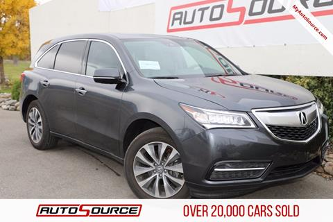 2016 Acura MDX for sale in Post Falls, ID
