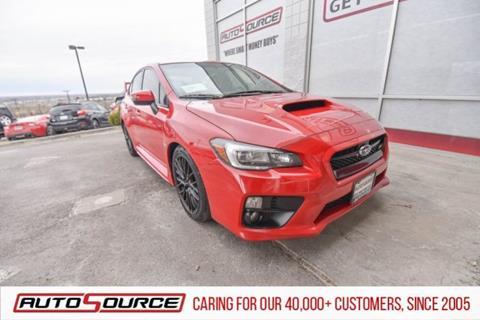 2017 Subaru WRX for sale in Post Falls, ID
