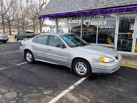 2000 Pontiac Grand Am for sale in Ashtabula, OH